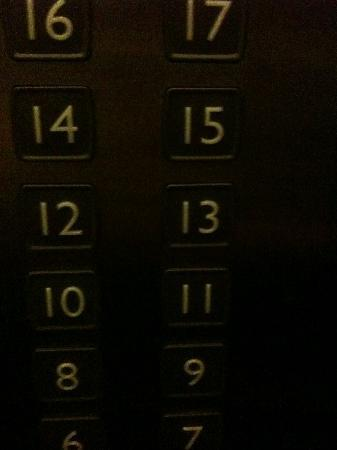 Halong Palace Hotel: they have a 13th floor