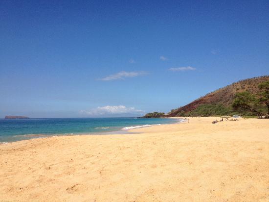 Fairmont Kea Lani, Maui: big beach 10 min drive from fairmont that we prefered to polo beach
