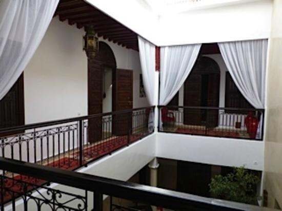 Riad Argan: Rooms around the central courtyard