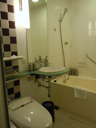 Hotel Trusty Tokyo Bayside: ホテルトラスティ東京ベイサイド バスルーム