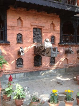 Kantipur Temple House: patio