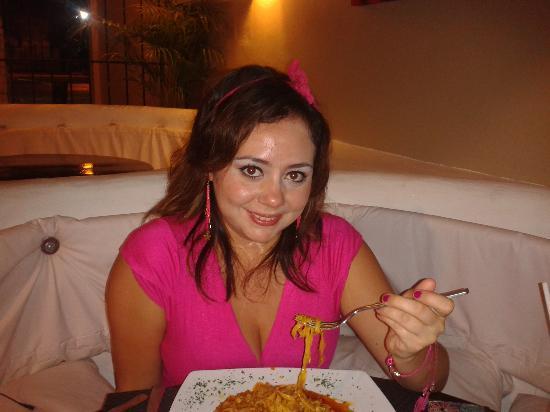 La Vongola : comiendo delicioso la mejor comida italiana riquísimo en verdad
