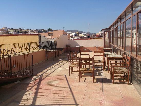 Hotel Casa Santo Domingo: Terraza superior