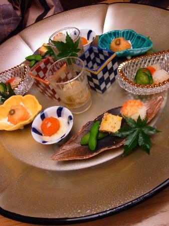 Hakone Suishoen: 夕食・懐石・・・ 
