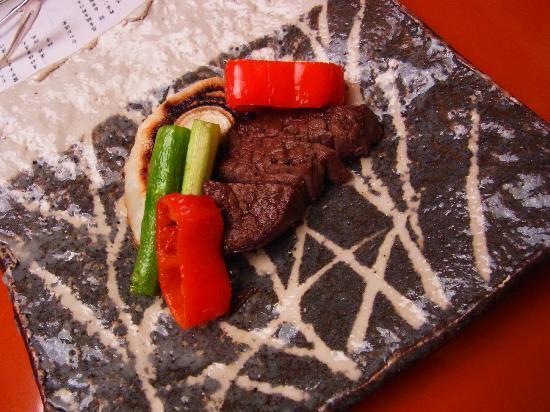 Hakone Suishoen: 和牛のステーキ