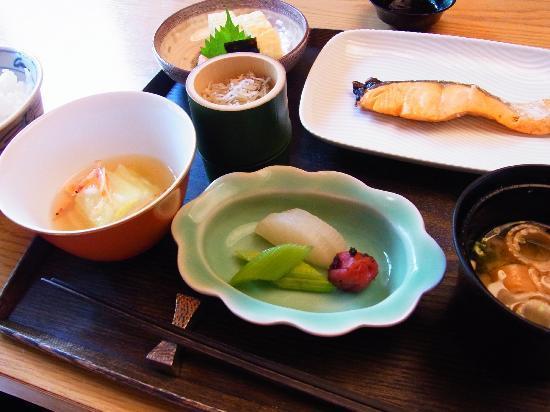 Hakone Suishoen: 朝食・・・和