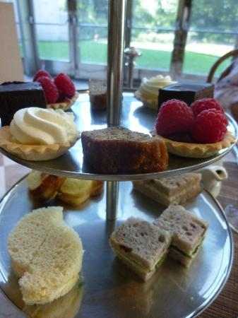 The Petrie Court Cafe: Selection of sandwiches, cakes, and tarts at Afternoon Tea