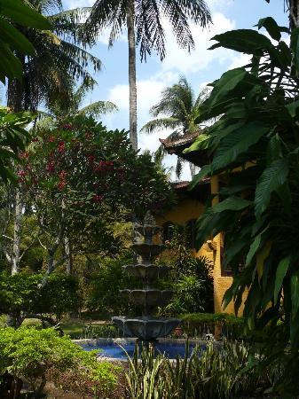 Alang-Alang Boutique Beach Hotel: il giardino
