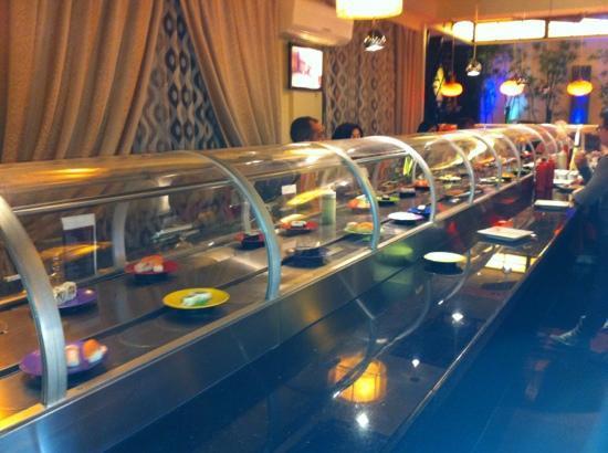 Fujiwok : Il nastro del sushi!