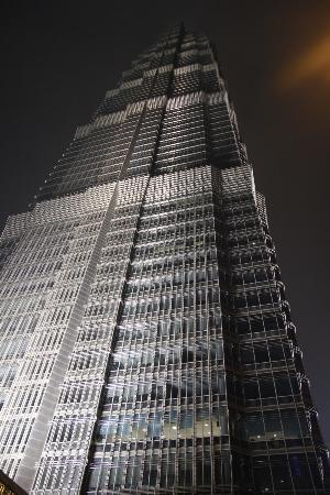 Jin Mao Tower: Building exterior