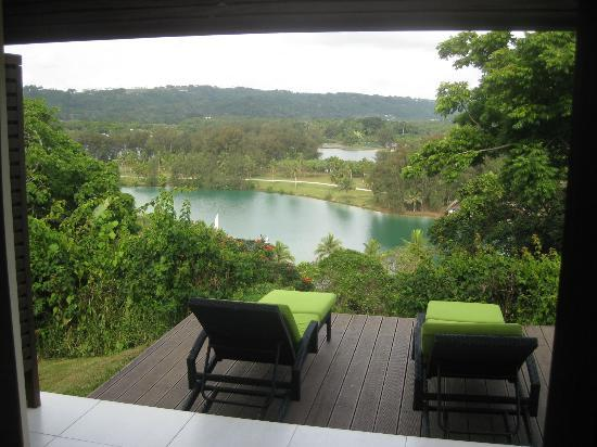 Mangoes Resort: View of Erakor Lagoon