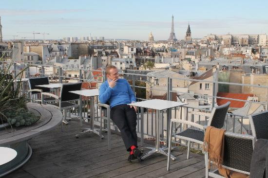 Holiday Inn Paris - Notre Dame: View from the terrace