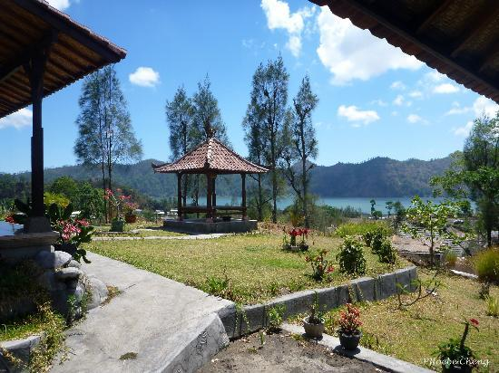 Mapa Lake View Bungalow: view from the reception