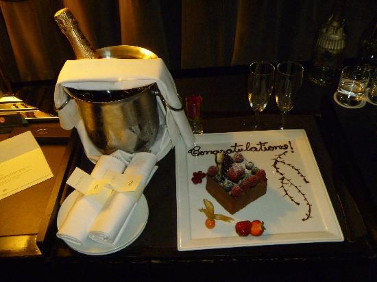 Sofitel London St James: Celebratory gift