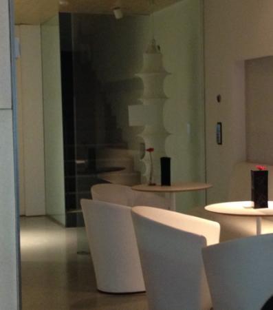 Alenti Sitges Hotel & Restaurant: déco sympa