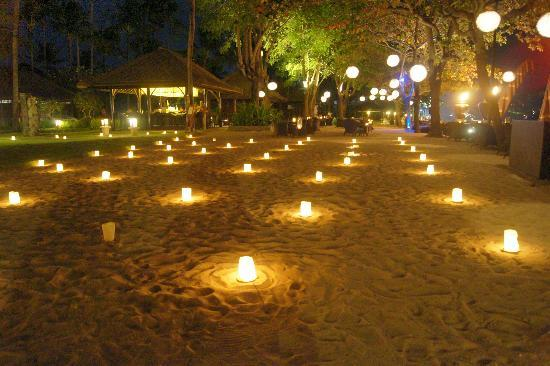 INTERCONTINENTAL Bali Resort: candles