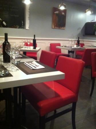 Le SEn'S : salle de restaurant
