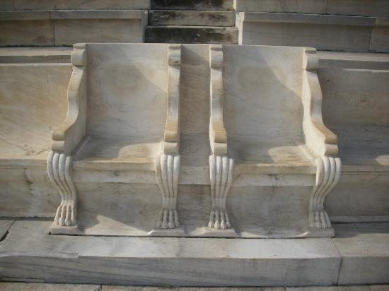 Panathenaic Stadium: Royal Seats