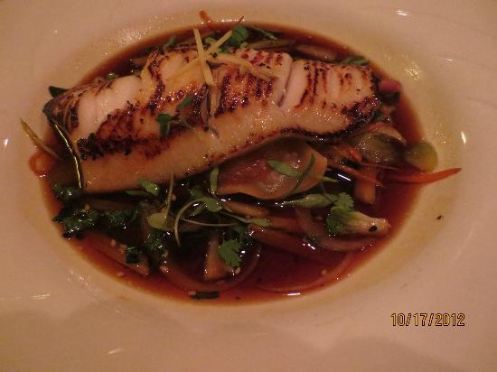 Todd's Unique Dining: Black cod in soy/ginger sauce