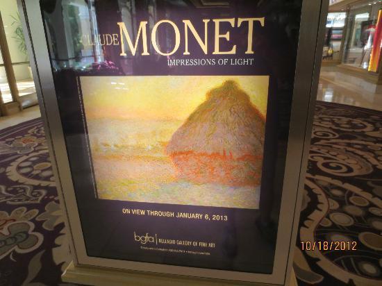 Bellagio Gallery of Fine Art : Exhibit poster