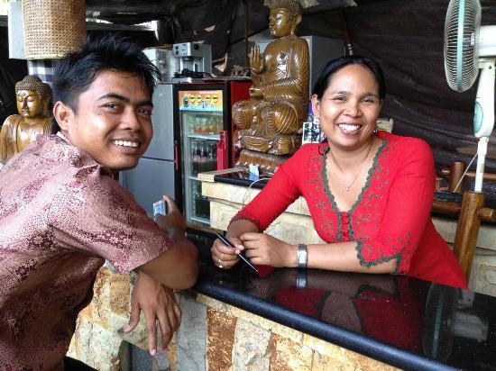 Adirama Beach Hotel: Personeel