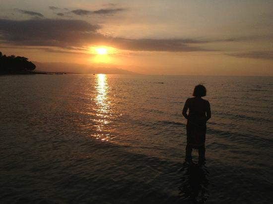 Adirama Beach Hotel: Ondergaande zon