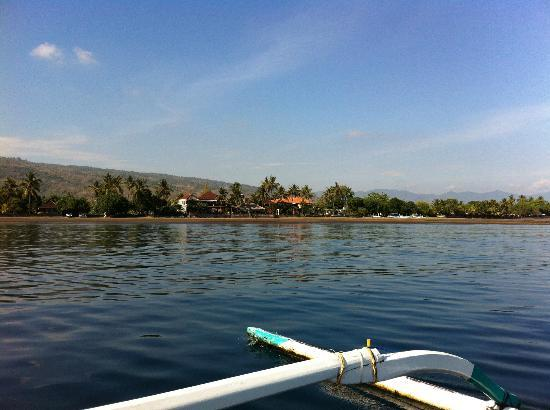 Adirama Beach Hotel: Terug van dolfijnen spotten