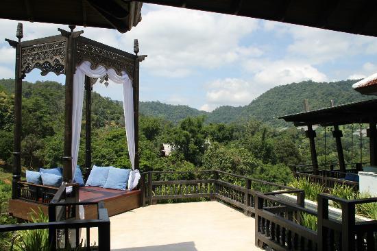 بانفيمان شيانج ماي سبا ريزورت: View lounge 