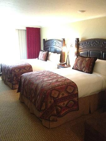 The Lodge at Jackson Hole: beds