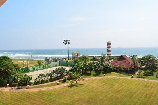 The Park Visakhapatnam: view of hotel grounds