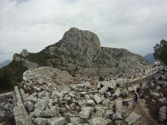 Termessos - the theater