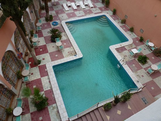 Saadiens Hotel: The pool