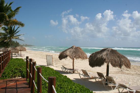 Petit Lafitte: La plage jour de fort vents