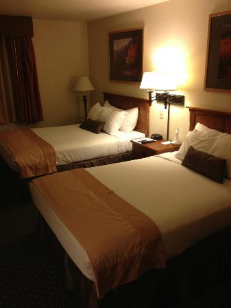 Comfort Inn & Suites: beds