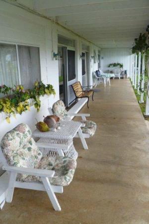 Belle Vue: veranda