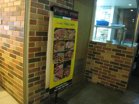 Pronto Pizza : Main