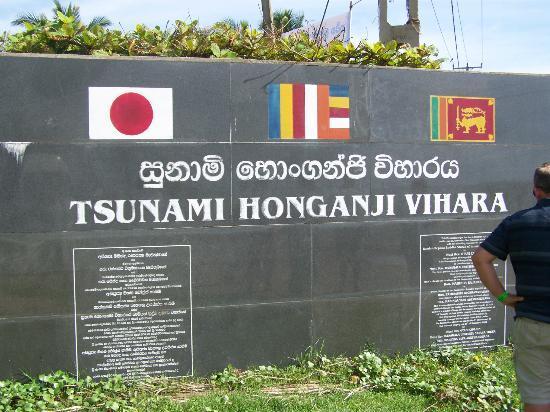 Tsunami Memorial Plaque Picture Of Club Bentota Aluthgama