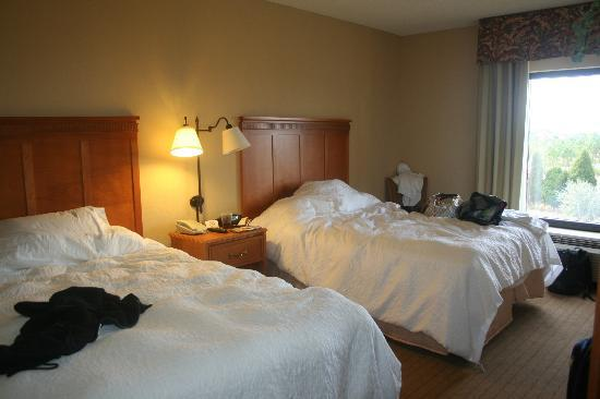 Hampton Inn & Suites Tampa East (Casino Area): our room ( 2 double beds )