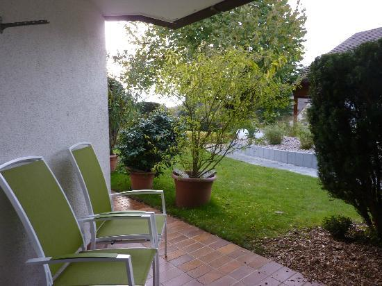 Appartement-Hotel im Weingarten: terrasse de la chambre
