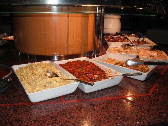 Hotel Panorama: Buffet - Platos calientes