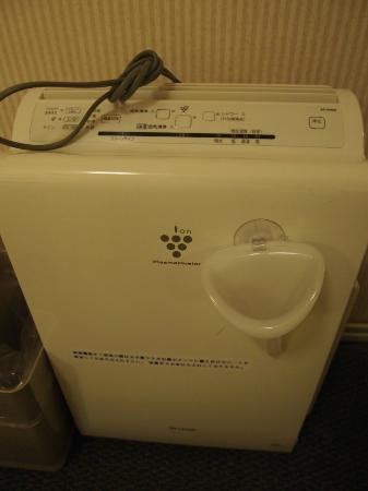 Osaka Tokyu REI Hotel: Air purifier