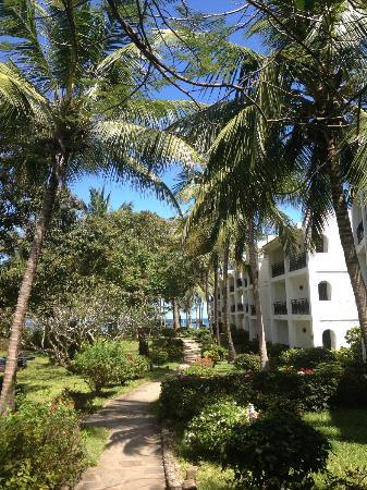 Diani Sea Resort: Hotel in the beautiful garden