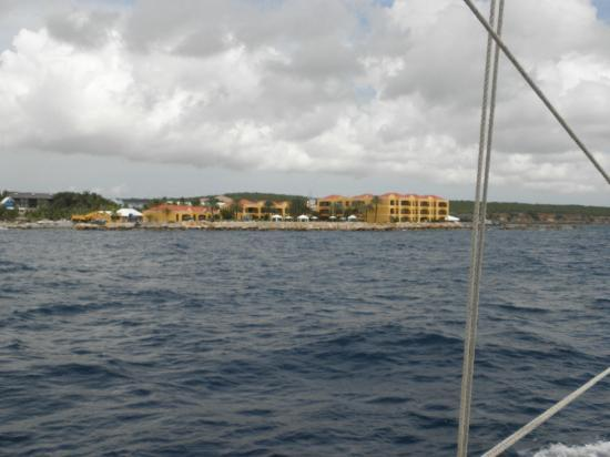 The Royal Sea Aquarium Resort: View from Sail Boat