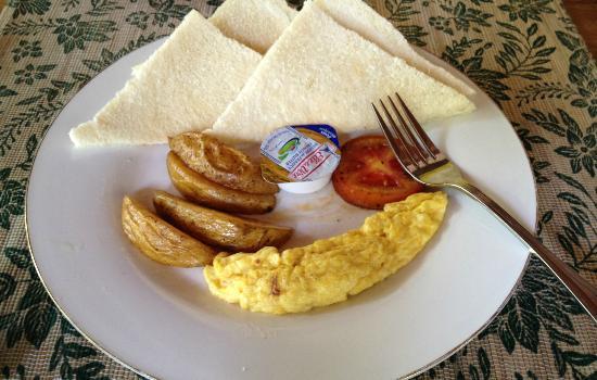 Rumah Batu Villa dan Spa: need more eggs too