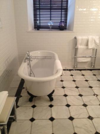 Carnbooth House Hotel: free standing bath ... say no more