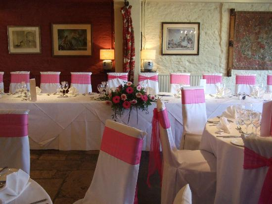 The Bay Tree Hotel: Wedding breakfast