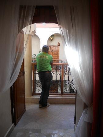 Riad Couleurs Du Sud: vue de la chambre