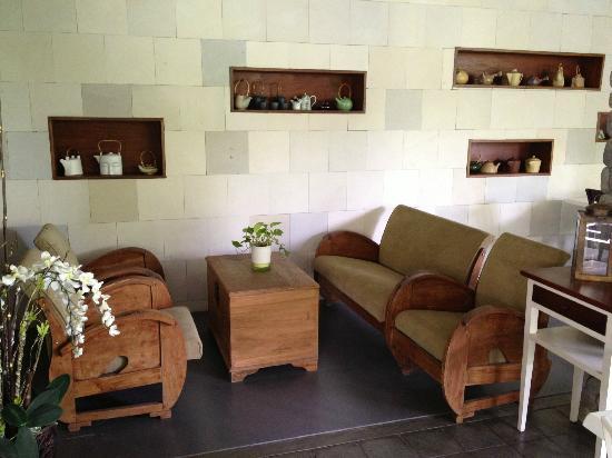 Rumah Batu Villa & Spa: lobby