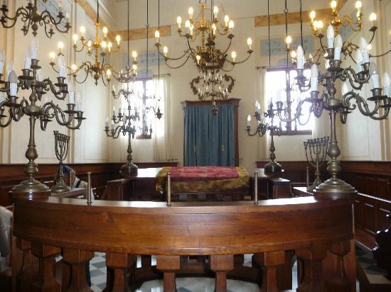 Antico Ghetto e Sinagoga Pitigliano: Interno Sinagoga Pitigliano