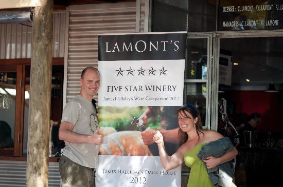 Lamont's Swan Valley: Lamont's front